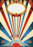 Annata del circo Immagine Stock