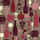 Annata del vino Fotografia Stock