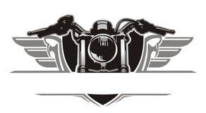 Annata dell'ala del motociclo Fotografia Stock