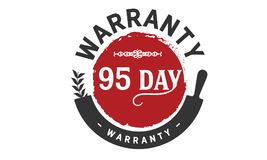 annata dell'icona della garanzia da 95 giorni Fotografie Stock Libere da Diritti