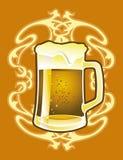 Annata della birra Fotografia Stock