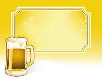 Annata della birra Fotografia Stock Libera da Diritti