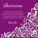 Annata della carta dell'invito Royalty Illustrazione gratis