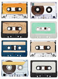Annata della cassetta audio di musica Immagini Stock Libere da Diritti