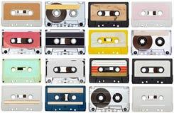 Annata della cassetta audio di musica Fotografie Stock