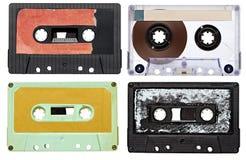 Annata della cassetta audio di musica Fotografia Stock Libera da Diritti