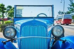 annata della via di Avana dell'automobile Fotografia Stock