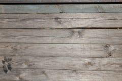 Annata di legno della plancia della parete del legname Immagine Stock