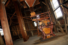 annata di macinazione della macchina della farina Fotografie Stock Libere da Diritti