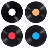 Annata di musica del gioco del disco di vinile di Vynil Fotografia Stock