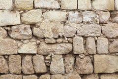 Annata di pietra naturale di lavoro di muratura Immagini Stock Libere da Diritti