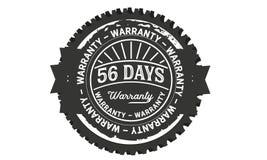 annata di progettazione della garanzia da 56 giorni, migliore raccolta di bollo illustrazione di stock
