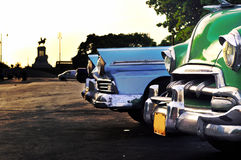 annata di scena di Avana delle automobili Immagini Stock