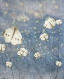 Annata, farfalla Fotografie Stock Libere da Diritti