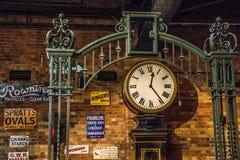 Annata ferroviaria di Yorkshire della stazione ferroviaria di York Immagine Stock Libera da Diritti