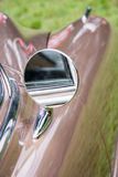 Annata fuori dello specchio posteriore Fotografie Stock
