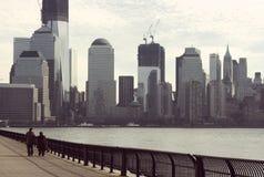 Annata New York City Immagine Stock Libera da Diritti