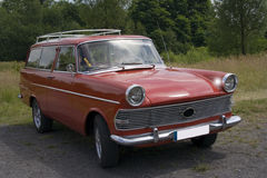 Annata Opel Rekord Fotografia Stock