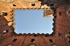 Annata Palazzo Pubblico Fotografia Stock