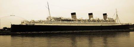Annata Queen Mary Immagine Stock