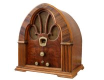 Annata Radio_Angle View.jpg Immagine Stock