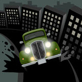 Annata, retro automobile Fotografie Stock Libere da Diritti