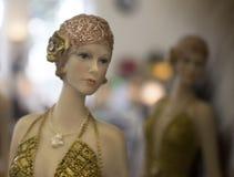 Annata - retro bambole Fotografia Stock