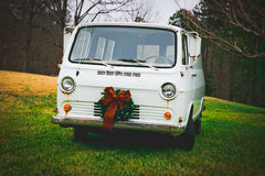 Annata Van di Natale Fotografie Stock Libere da Diritti