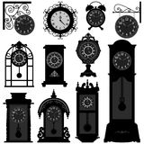 Annata vecchio Tra classico antico dell'oggetto d'antiquariato di tempo di orologio Fotografia Stock