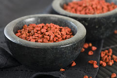 Annatto Seeds Stock Image