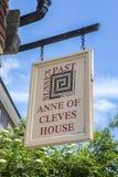 Anne του σπιτιού Cleves σε Lewes Στοκ Εικόνες