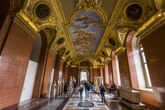 Anne των διαμερισμάτων της Αυστρίας, το Λούβρο, Παρίσι, Γαλλία Στοκ Εικόνες