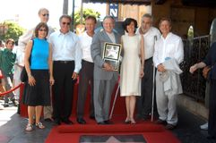 Anne Archer,James Cromwell,Harrison Ford,James Woods,Mace Neufeld,Michael York Royalty Free Stock Image