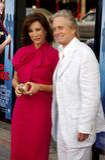 Anne Archer och Michael Douglas royaltyfri bild