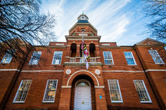 Anne Arundel County Court House, à Annapolis, le Maryland Images stock