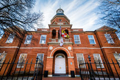 Anne Arundel County Court House, à Annapolis, le Maryland Photo stock