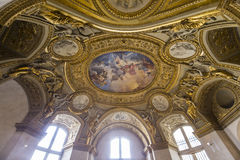 Anne of Austria apartments, The Louvre, Paris, France Stock Photo