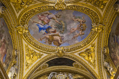 Anne of Austria apartments, The Louvre, Paris, France Royalty Free Stock Images