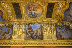 Anne of Austria apartments, The Louvre, Paris, France Royalty Free Stock Image