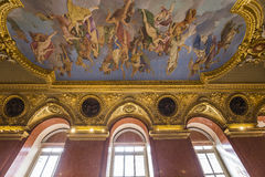 Anne of Austria apartments, The Louvre, Paris, France Stock Photos