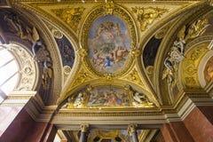Anne of Austria apartments, The Louvre, Paris, France Stock Images