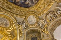 Anne of Austria apartments, The Louvre, Paris, France Stock Photo