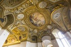 Anne of Austria apartments, The Louvre, Paris, France Stock Photography