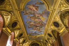 Anne Austria mieszkania louvre, Paryż, Francja Obrazy Stock