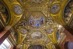 Anne Austria mieszkania louvre, Paryż, Francja Zdjęcia Royalty Free