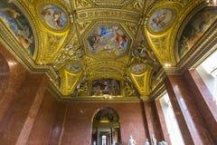 Anne Austria mieszkania louvre, Paryż, Francja Obraz Royalty Free
