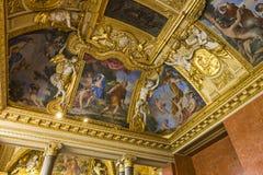 Anne Austria mieszkania louvre, Paryż, Francja Zdjęcie Royalty Free