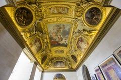 Anne Austria mieszkania louvre, Paryż, Francja Fotografia Royalty Free