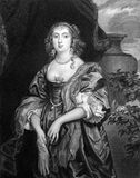 Anne Carr, Countess of Bedford Stock Images