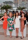 Anne Consigny, Catherine Deneuve, Chiara Mastroianni, Emmanuelle Devos Stock Image